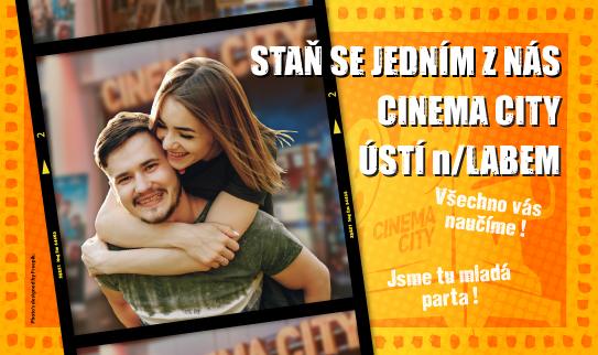 Brigáda v kině Cinema City Ústí n. Labem 2019
