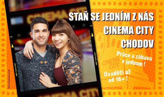 Brigáda v kině Cinema City Chodov