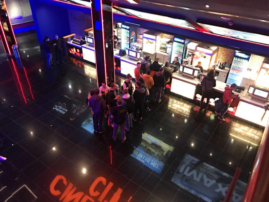 Promítací večery s občerstvením pro zaměstnance Cinema City