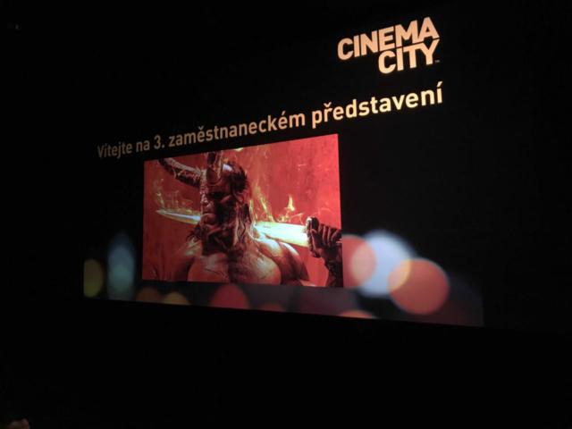 Promítání pro zaměstnance kina 2018