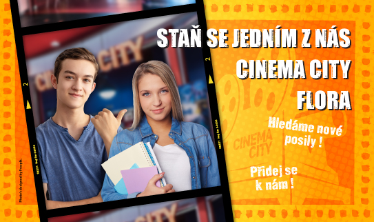 Brigáda v kině Cinema City Flora 2019