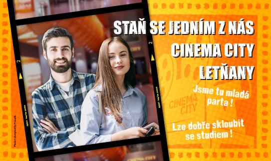 Brigáda v kině Cinema City Letňany 2019