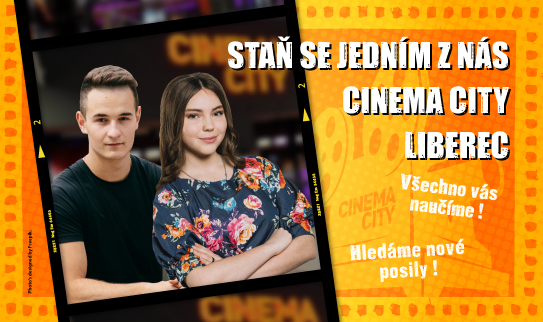 Brigáda v kině Cinema City Liberec 2019