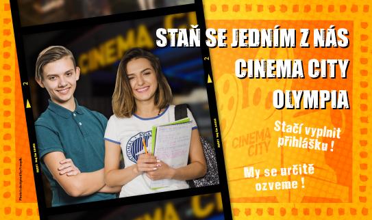 Brigáda v kině Cinema City Olympia Brno 2019