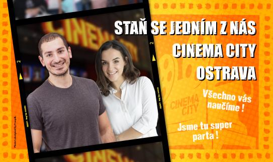 Brigáda v kině Cinema City Ostrava 2019