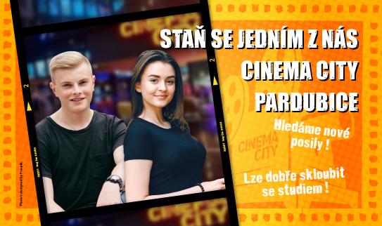 Brigáda v kině Cinema City Pardubice 2019
