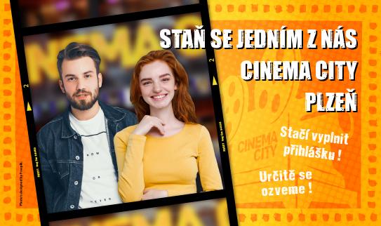 Brigáda v kině Cinema City Plzeň Plaza 2019
