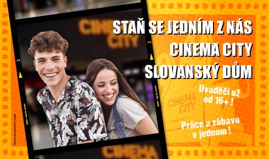 Brigáda v kině Cinema City Slovanský Dům 2019