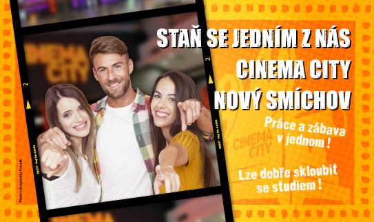 Brigáda v kině Cinema City Nový Smíchov 2019