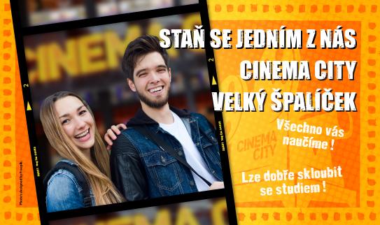 Brigáda v kině Cinema City Brno Velký Špalíček 2019