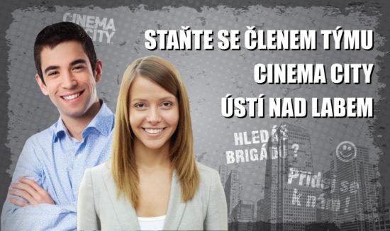 Brigáda v kině Cinema City Ústí nad Labem 2018