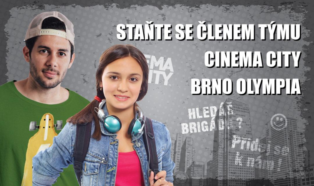 Brigáda v kině Cinema City Brno Olympia 2018