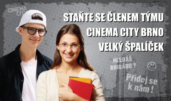 Brigáda Cinema City Brno Velký Špalíček 2018