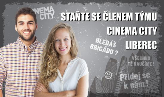 Brigáda Cinema City Liberec 2018