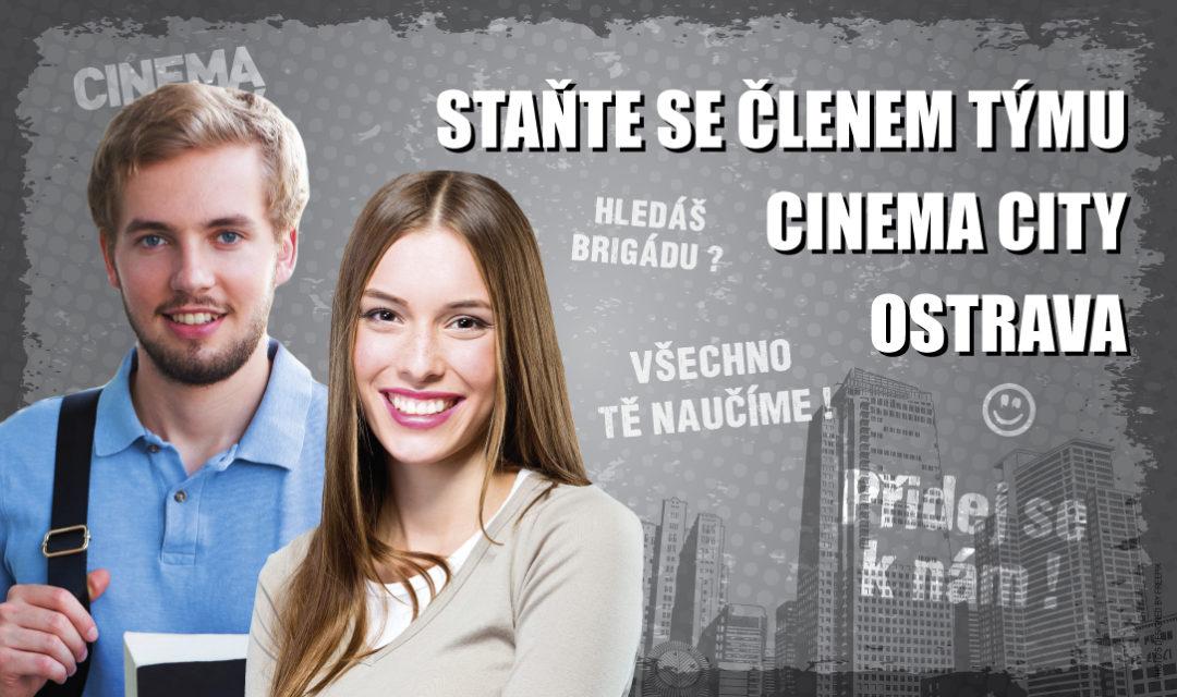 Brigáda v kině Cinema City Ostrava 2018
