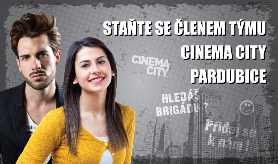 Brigáda v kině Cinema City Pardubice 2018