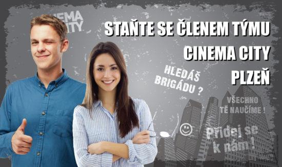 Brigáda v kině Cinema City Plzeň 2018