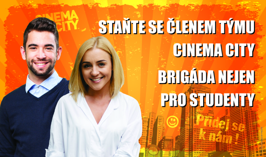 Brigáda v Pražských Cinema City