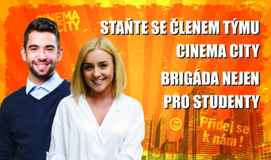 Brigáda v Pražských Cinema City 2018