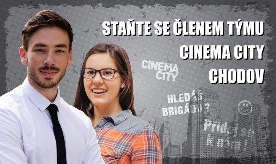 Brigáda v kině Cinema City Praha Chodov 2018