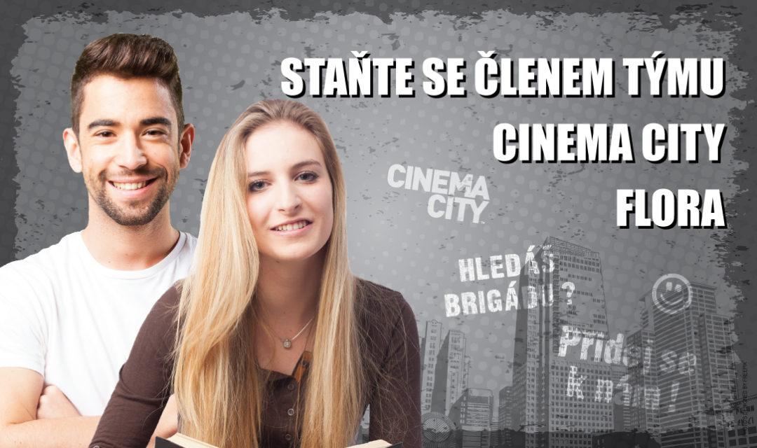 Brigáda v kině Cinema City Praha Flora 2018