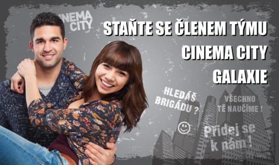 Brigáda v kině Cinema City Praha Galaxie 2018