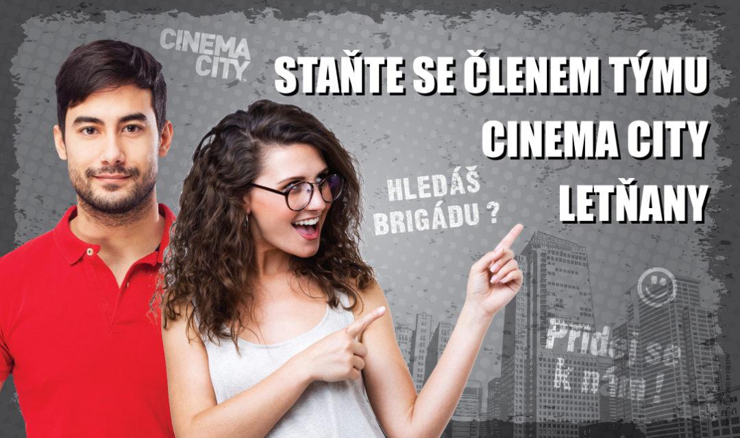 Brigáda v kině Cinema City Praha Letňany 2018
