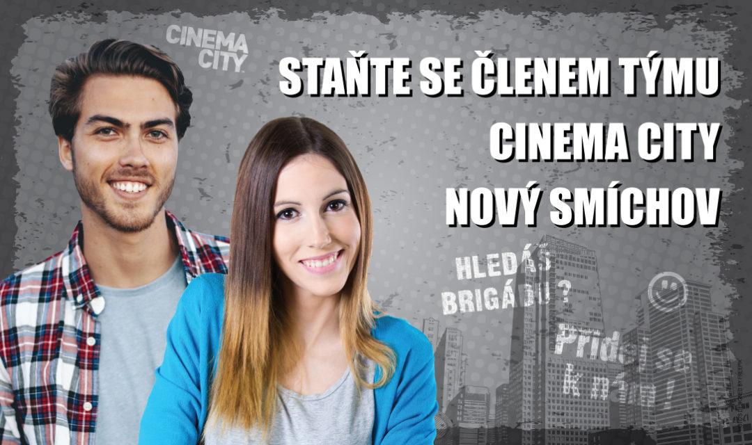 Brigáda v kině Cinema City Praha Nový Smíchov 2018