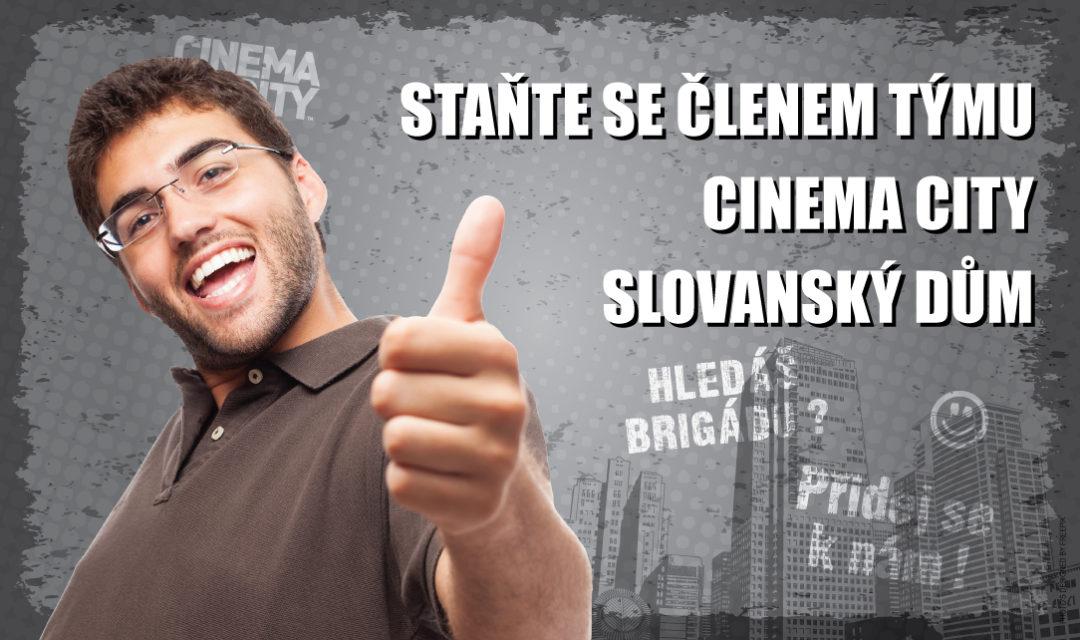 Brigáda v kině Cinema City Praha Slovanský dům 2018