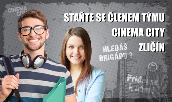 Brigáda v kině Cinema City Praha Zličín 2018
