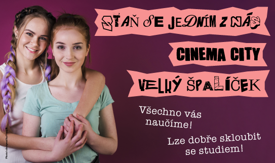 Brigáda v kině Cinema City Brno Velký Špalíček