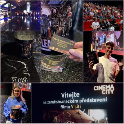 Promítací večery pro zaměstnance Cinema City s občerstvením